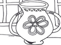 Free Printable Coloring Page: Jar